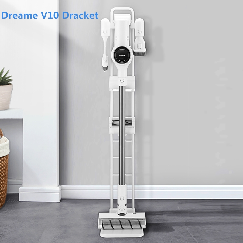Original Dreame V10 Holder Nset Foothold Steady Vacuum Cleaner Bracket Also Suitable For Dreame V9 V9P MIJIA 1C Dyson Series