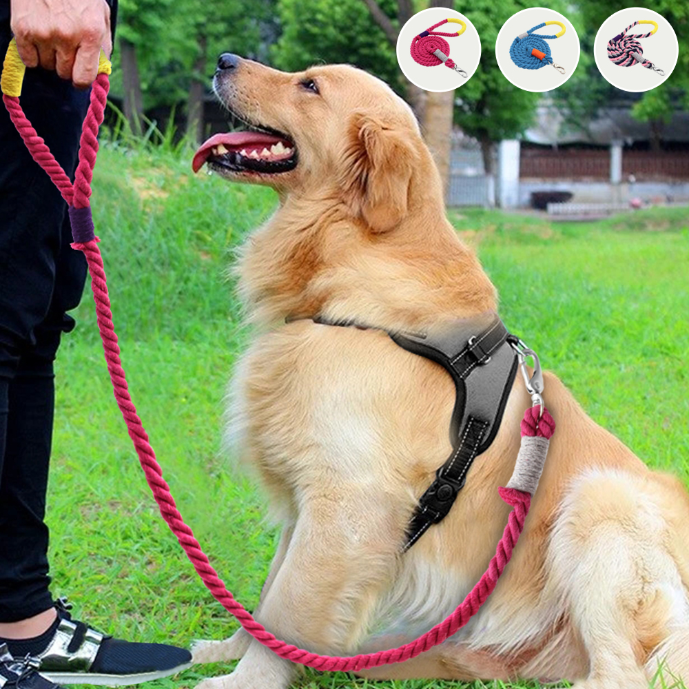 160cm Nylon Dog Leash Lead Durable Pet Walking Running Training Dog Leashes Rope For Small Medium Large Dogs Pet Supplies