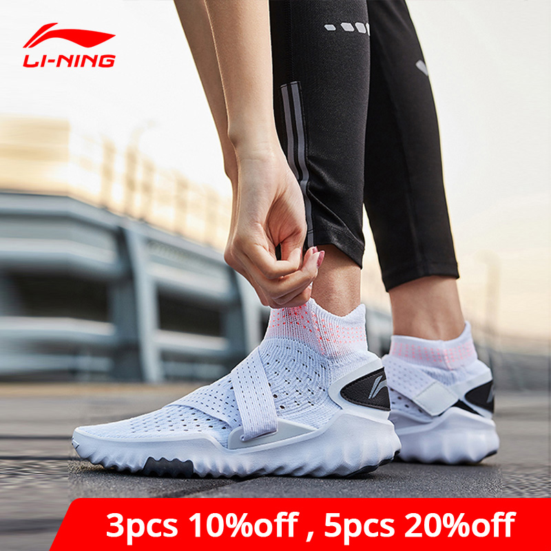 Li-Ning Women 3D SOCK SHOE PRO Smart Quick Training Shoes Breathable High-Cut LiNing Li Ning Sport Shoes Sneakers AFHP016 YXX061