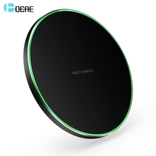 DCAE 10W Qi Wireless Charger Quick Charge 3.0 for Samsung S9 S10 Note 9 10 USB Fast Charging Pad iPhone X XS 11 XR 8 Airpods