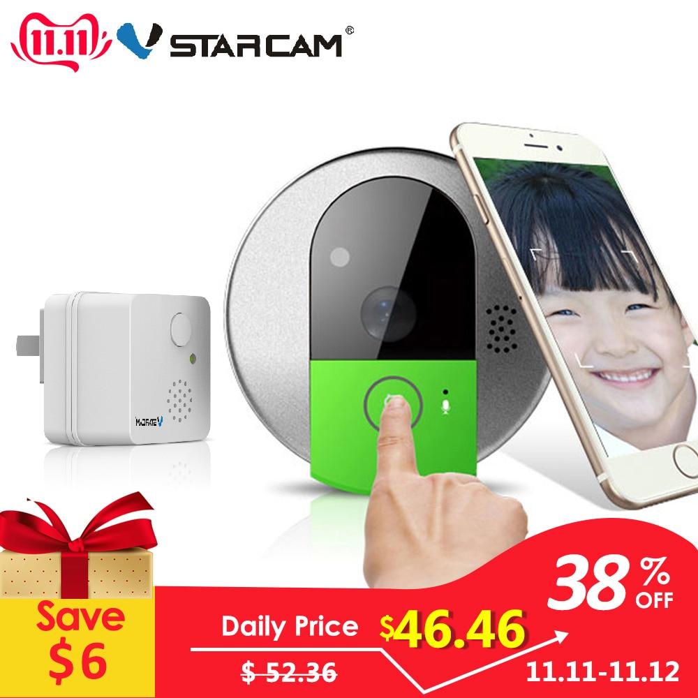 VStarcam C95 HD 720P Draadloze WiFi Beveiliging IP-deurcamera Nachtzicht Tweeweg Audio Groothoek Video Doorcam Cam