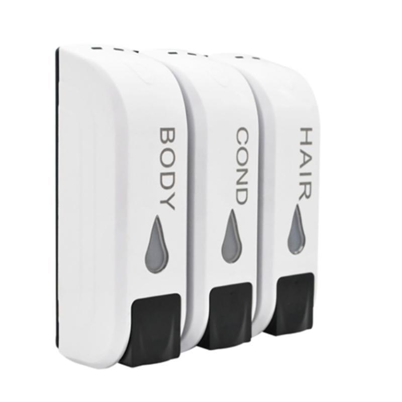350ml Liquid Soap Dispenser Wall-mounted Shower Bath Shampoo Dispenser Hand Sanatizer Soap Container for Kitchen Bathroom Toilet 1