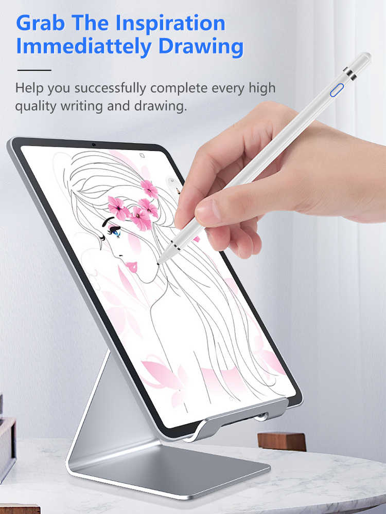 Actieve Stylus Touch Pen Voor Apple Ipad Voor Samsung Galaxy Tablet Touch Pen Voor Ipad 10.2 Mini 5 4 Air 1 2 3