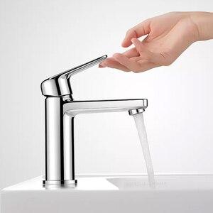 Image 2 - Youpin Dabai Diiib kolu lavabo banyo havzası musluk soğuk sıcak musluk bataryası mutfak musluk şelale banyo mutfak musluk