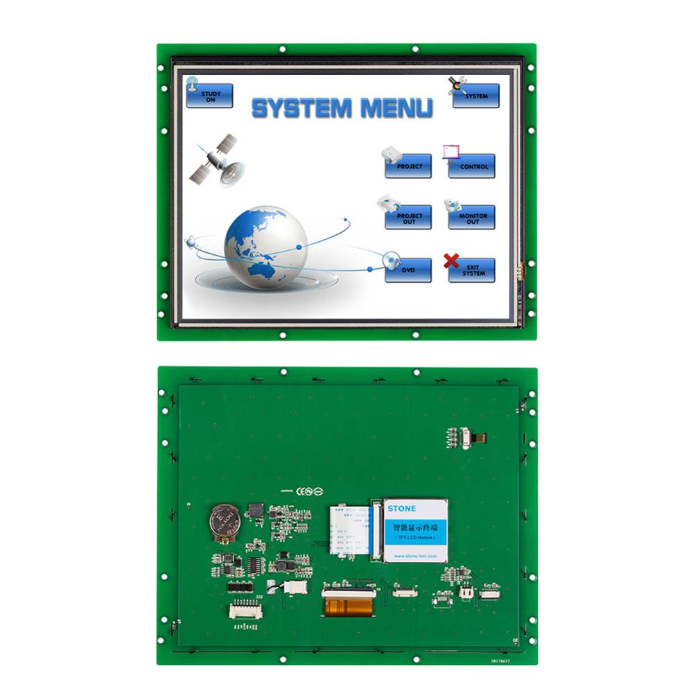 STONE 10.4 Inch HMI TFT LCD Touch Screen with RS232/RS485/TTL for Equipment Use