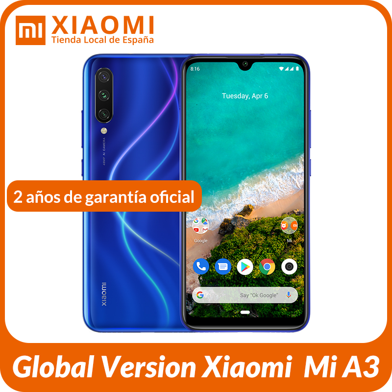 Global Version Xiaomi My A3 Official Android ONE Snapdragon 665 6.088