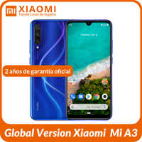 "Global Version Xiaomi Mi A3 oficial Android ONE Snapdragon 665 6.088"" AMOLED Octa Core 32MP Flagship Selfie 48MP Triple AI"