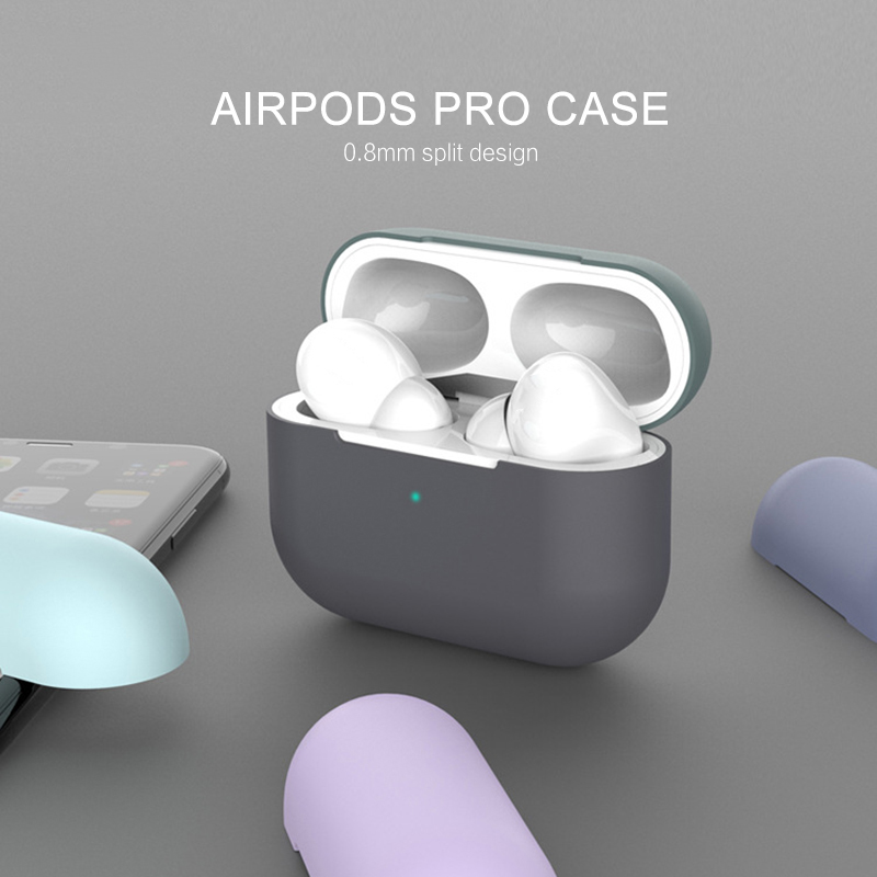 2020 New Silicone Case For Apple Airpods Pro Case Wireless Bluetooth  Protection Drop Headphone Case Cover Fashion Earphone Case