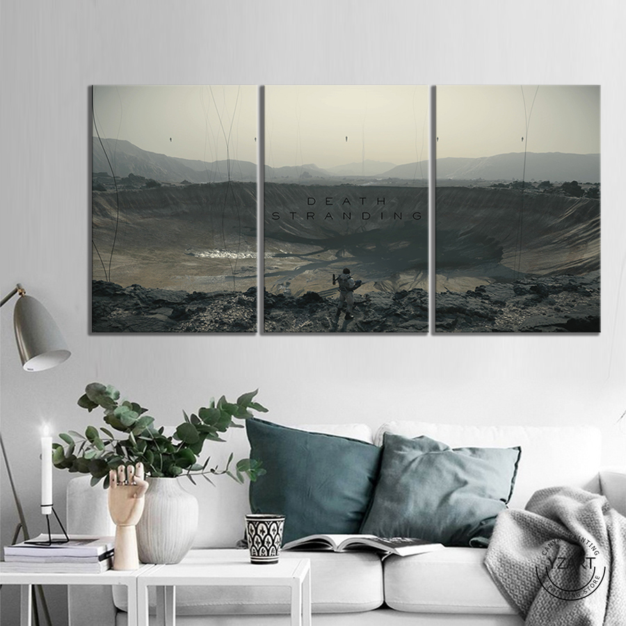 Death Stranding  HD Fantasy Art Wall Pictures Shooting Games Artwork Canvas Paintings for Home Decor Wall Art 2