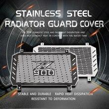 Motocicleta radiador guarda para z900 2017 2018 2019 2020 grade do motor radiador protetor de aço inoxidável moldura guarda capa