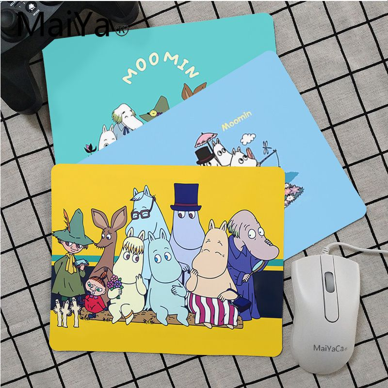 Maiya Top Quality Cute Hippo Moomin Pikku Myy Laptop Gaming Mice Mousepad Top Selling Wholesale Gaming Pad Mouse