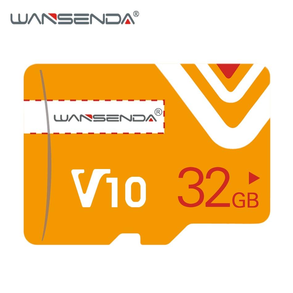 Новая WANSENDA карта памяти Micro SD карта 128 Гб 64 ГБ 32 ГБ 16 ГБ 8 ГБ флэш-карта mini TF карта памяти для смартфонов и планшетных ПК
