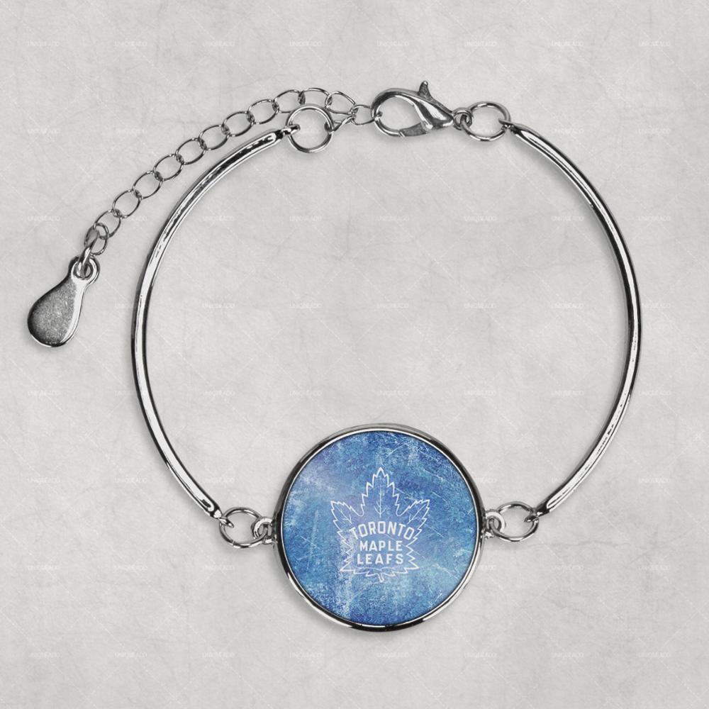 Toronto Maple Leafs Photo Bracelet custom photo Bracelet Silver Photo Bracelet jewellery Mother Mum Gift Baby Shower cute Gift