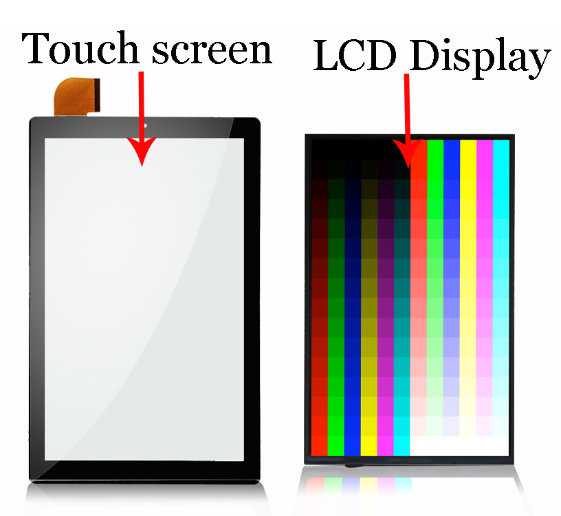 New 10.1inch For CHUWI HiPAD CW1551  CHUWI Hi PAD CW1551 LCD Display And Touch Screen Digitizer