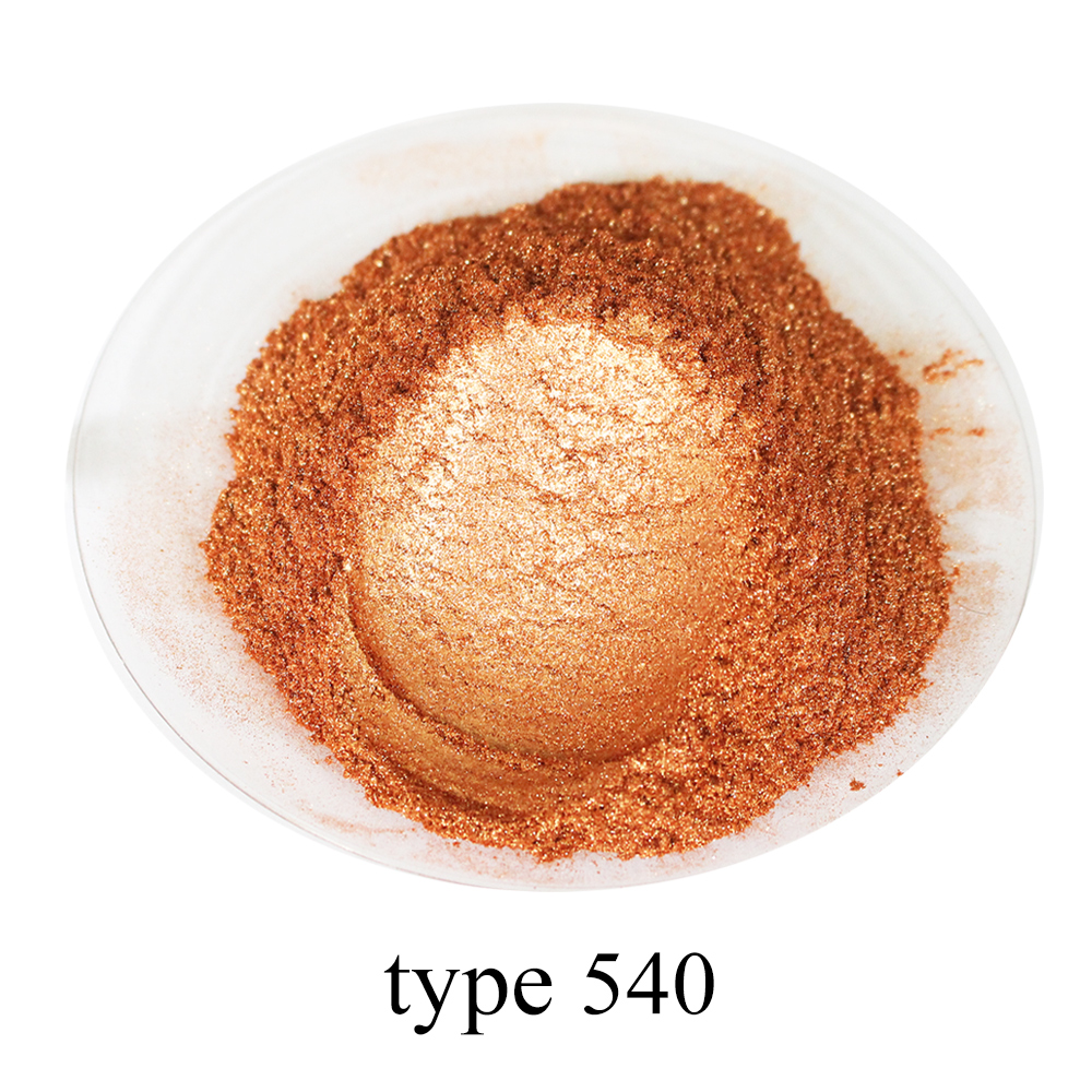 50g Bronze Pearl Powder Pigment Mineral Mica Powder DIY Dye Colorant For Lip Eye Shadow Soap Automotive Art Crafts Mica Powder