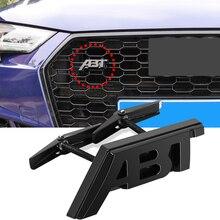 Наклейка с логотипом ABT для Volkswagen Audi Skoda Seat Golf TT RS3 RS6 RS7 SQ7 A3 RS4 RS5 A8L S6 A4 Q5 A1 S5 S4 A5, аксессуары для гриля