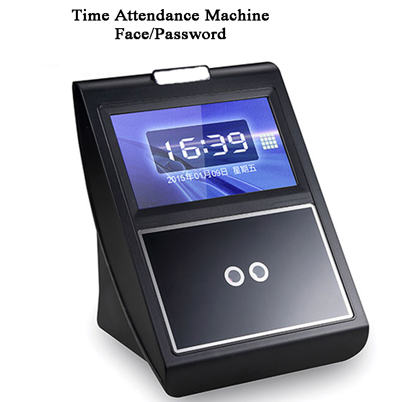 Access Control Face Time Attendance Machine Password USB BS Wifi RFID Card Optional Office Employee Gate Opener Door Controler