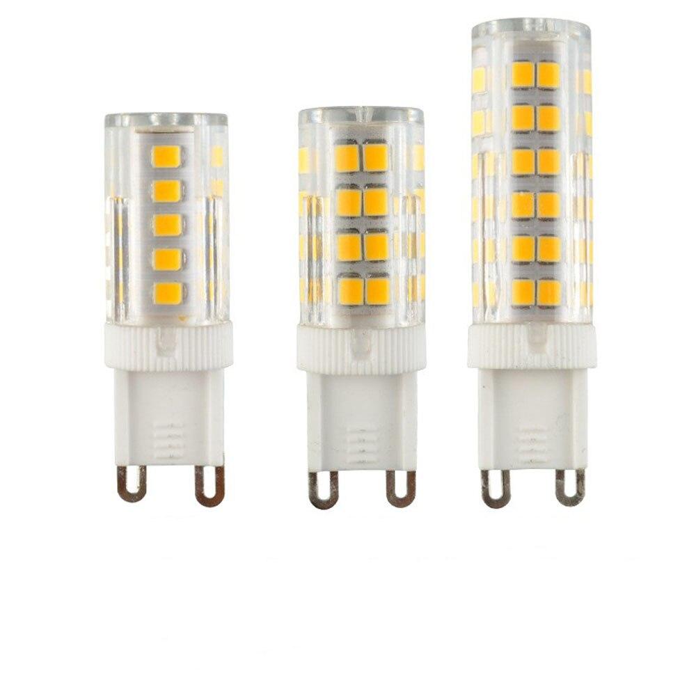 G4 G9 lámpara LED 5W 7W 9W/blanco frío AC220V-240V ángulo del haz de luz de 360 grados Mini bombilla LED reemplazar 20W 30W 40W 50W luz halógena 85-265 V, luz infrarroja para interiores y exteriores, Sensor de movimiento, retardo de tiempo, interruptor PIR de iluminación para el hogar, lámpara nocturna sensible Led