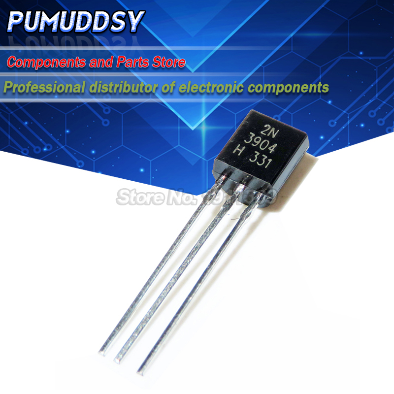 100PCS 2N3904 TO-92 TO 92 NPN General Purpose Transistor new and IC IC