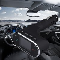 Car MP3 Audio Player FM Transmitter Wireless FM Modulator Car Kit HandsFree LCD Display USB Charger