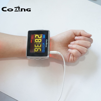 Laser Medical Physiotherapy Equipment Tinnitus Rehabilitation Treatment Hearing Loss Laser Watch