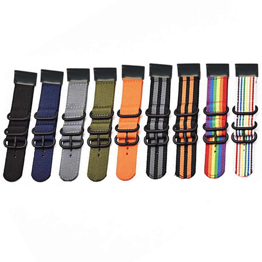 Cinturino di vigilanza Rapido easy Fit watch band per Garmin Fenix 5X5 5 S Plus/Fenix 3/3 HR /935 945 Intelligente wristBand della banda di Nylon 26 22 20 MILLIMETRI