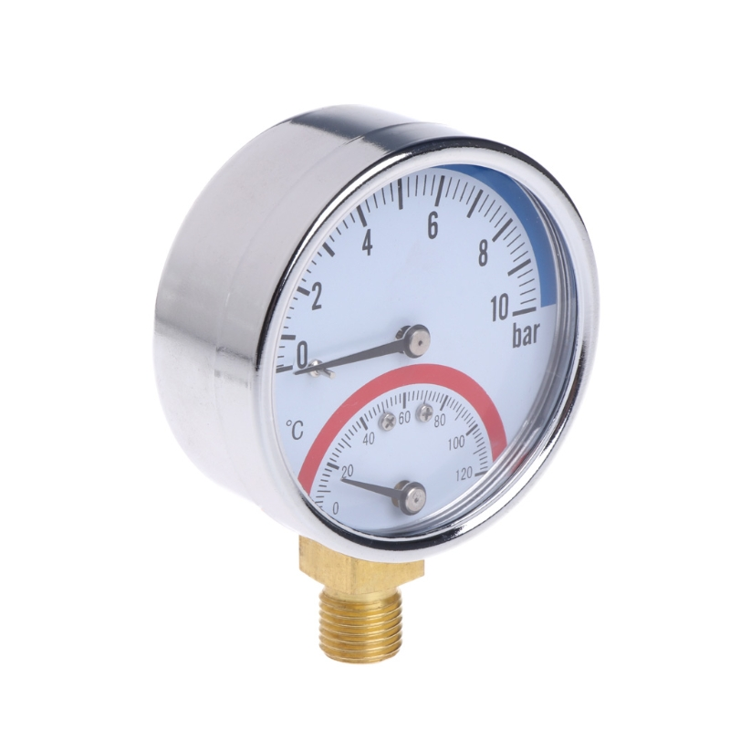 10 бар температура манометр метр G1/4 нитки 2 в 1 термометр Монитор