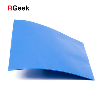 New 6.0 W/mK GPU CPU Heatsink Cooling Conductive Silicone Pad 100mm*100mm*1mm Thermal Pad high quality 1