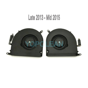 "Image 3 - Original Left and Right CPU Cooler Cooling Fan For Macbook Pro Retina 15"" A1398 Late 2013 Mid 2014 2015 Years"