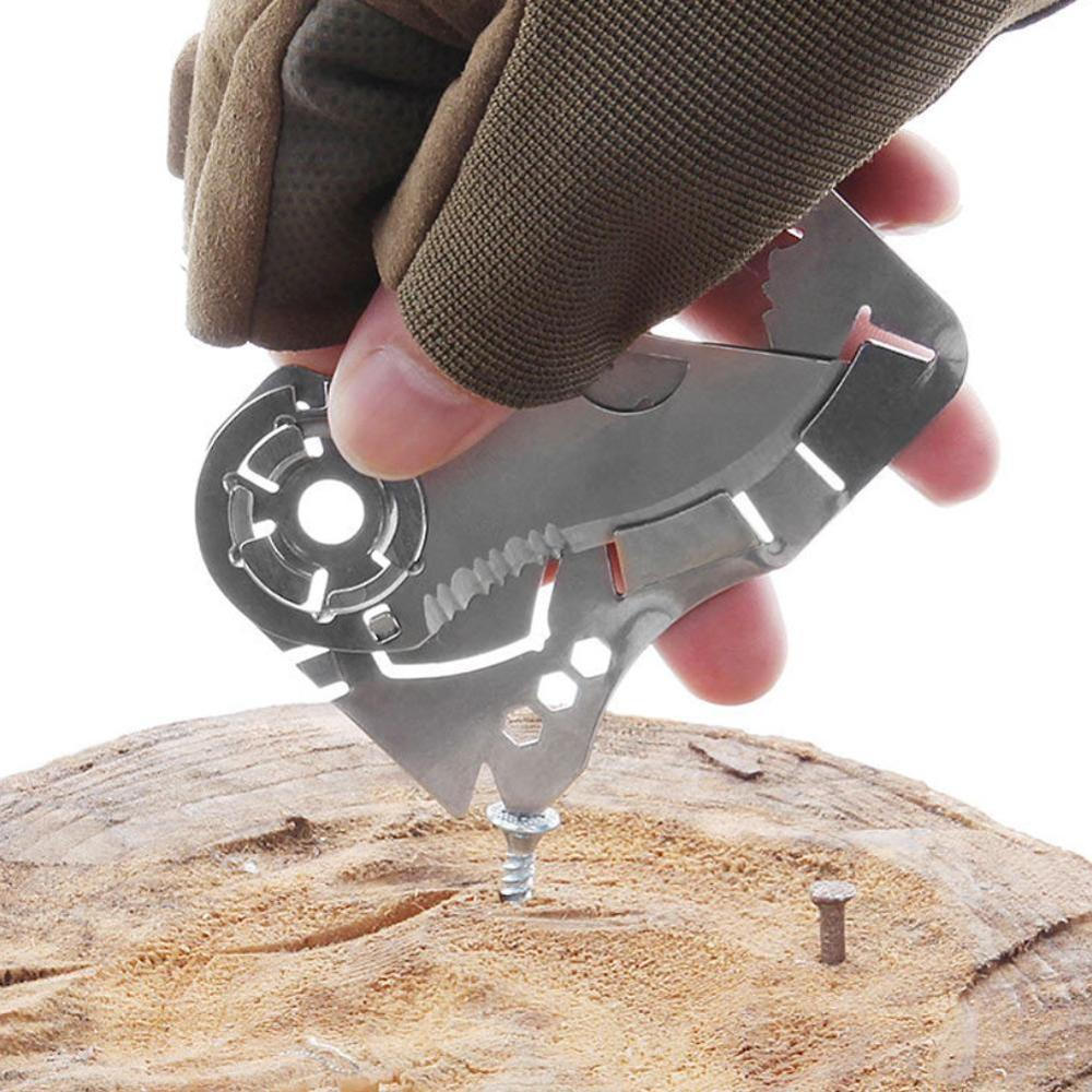 EDC portátil al aire libre herramientas de bolsillo creativo cabeza de Lobo Fly-Off herramienta de combinación multifunción cuchillo de tarjeta de billetera de acero inoxidable Cámara IP para exteriores Hiseeu wifi 1080P 720P impermeable cámara de seguridad inalámbrica 2.0MP metal audio bidireccional tarjeta TF registro P2P bullet