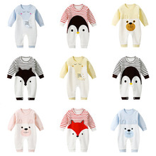 2019 New Ins Autumn Baby Girl /boy Clothes One-pieces Jumpsuits Clothing ,cotton Long Romper Infant Girl/boy Gift