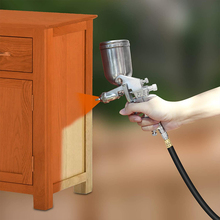 400ML Portable Professional Pneumatic Airbrush Paint Spray Gun Home Spray Sprayer Paint Spray Can Furniture Car Painting Tool
