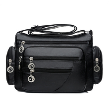 Women Bags Genuine Leather Shoulder Bags For Ladies Crossbod