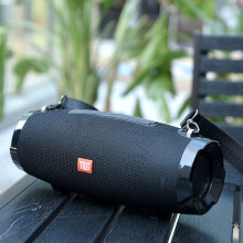 TG504 Wireless Bluetooth Speaker Portable Column Outdoor Waterproof Speaker 20W with FM Stereo Music Surround Bass Subwoofer Box(China)