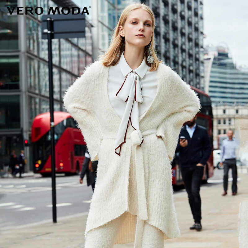 Vero Modaฤดูใบไม้ผลิฤดูร้อนถักLeisurewear Cardigan | 318313523