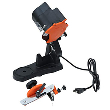 Electric Chainsaw Sharpener Portable Bench Mounted Saw Chain Grinder Heavy Duty Sharpening Machine 85W Sharp
