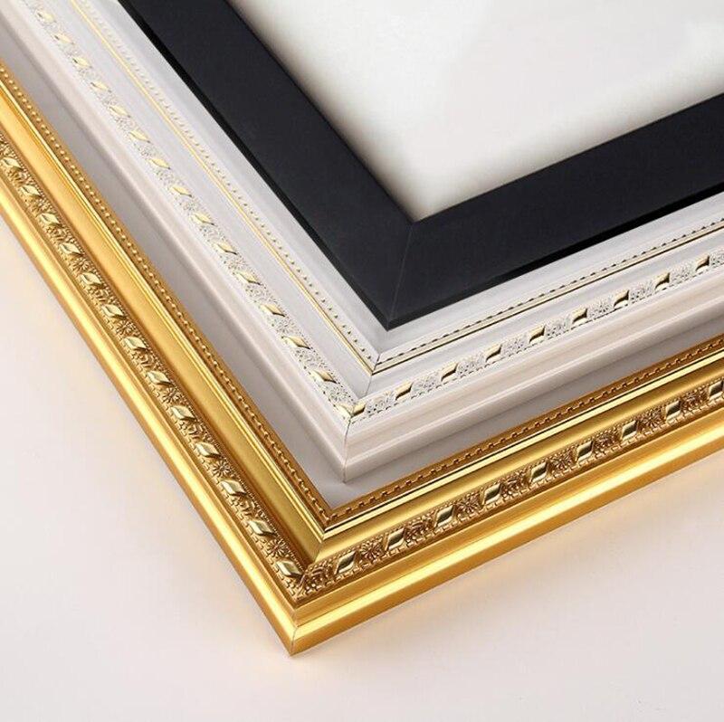 Новая деревянная растягивающая картина маслом своими руками Алмазная мозаика Толстая деревянная рамка Настенная картина рамка для фото вн...