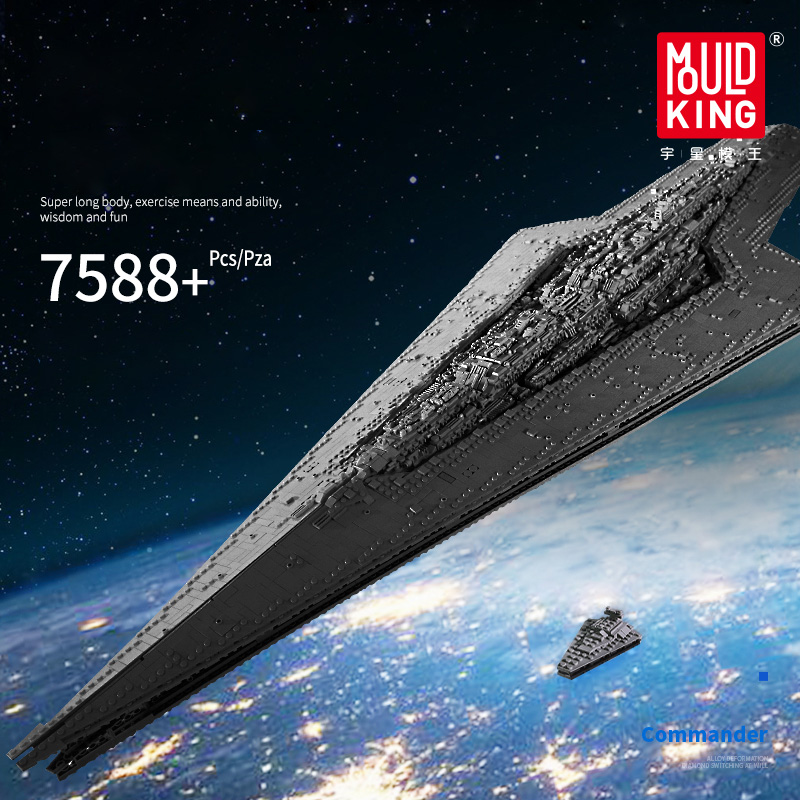 DHL 7788Pcs Star Wars The Imperial Star Destroyer Toys Model Building Block DIY Toy Christmas Gift Compatible legoing 75252 1