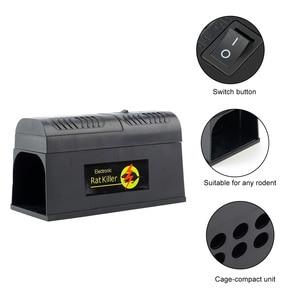 Image 4 - Behogar Electric Shock Mouse Mice Rat Rodent Trap Cage Killer Zapper Reject Rejector For Serious Pest Control EU US UK Plug