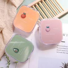 1Pc Fruit Stijl Soak Storage Contact Lens Case Box Holder Container Leuke Reizen Contactlenzen Case Kit Doos Vrouwen Gift