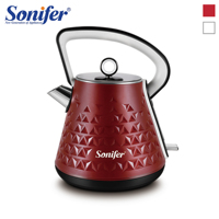 1.7L Stainless Steel Classical Electric Kettle Household Quick Heating Electric Tea Pot 220V Sonifer|Electric Kettles| |  -