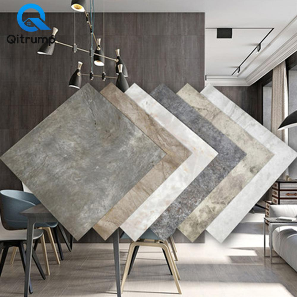 Modern Waterproof Floor Stickers Self Adhesive Marble Wallpapers Kitchen Wall Sticker House Renovation DIY Wall Ground Decor PVC