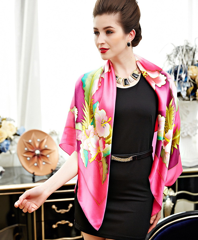 A New Silk Scarf For Ladies In
