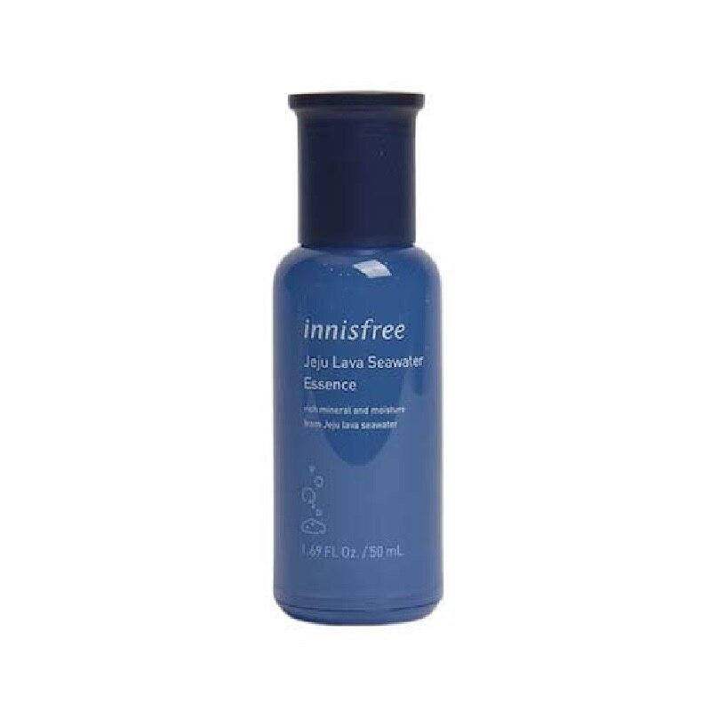 Jeju Lava Seawater Essence 50ml Ceramide Serum Face Skin Care Hydrating Anti Wrinkle Whitening Facial Essence Korea Cosmetics