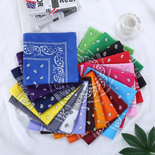 1PC Newest 100% Cotton Hip-hop Bandanas For Male Female Head Scarf Scarves Wristband Vintage Pocket Towel Hot Selling