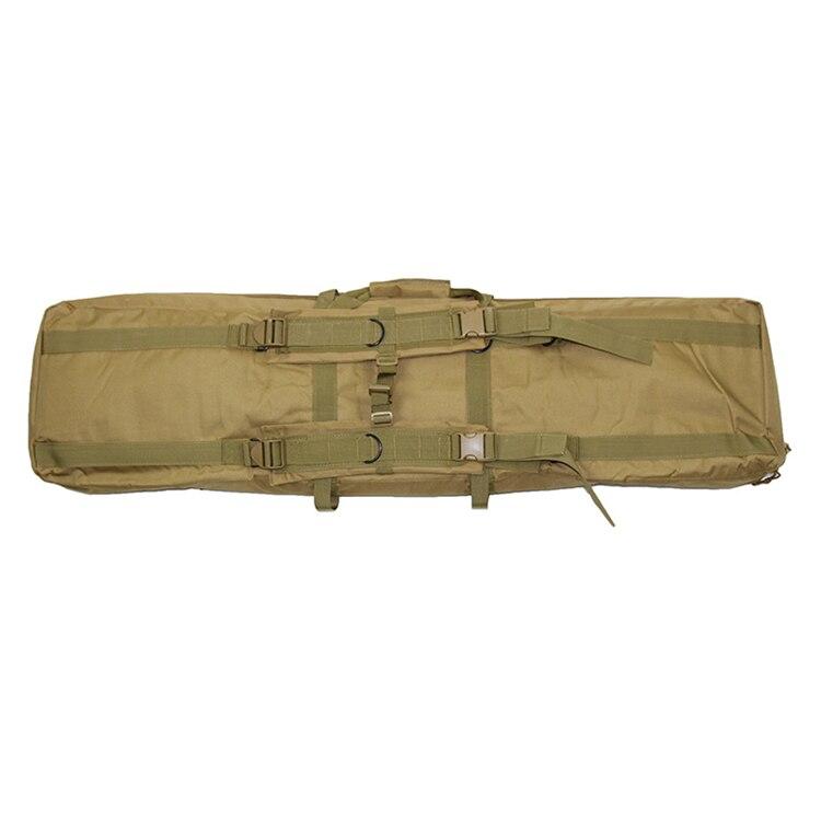 Molle sacos de caça tático duplo rifles