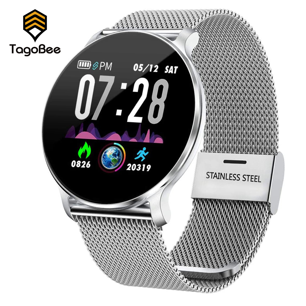TagoBee NY03S Smart Activity Trackers Watch Heart Rate Monitor Fitness Men Women Clock wristbands Waterproof IP68 Android  iOS