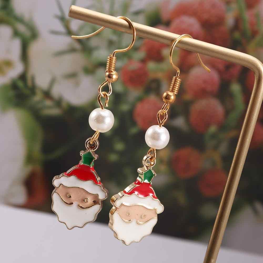Komplette Set Neue Weihnachten ohrringe anhänger DIY Schmuck Paket Ohr Studs Aussage Baumeln Ohrringe Für Schmuck Machen Liefert
