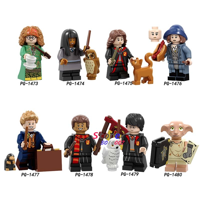 Single Building Blocks Dobby Trelawney Cho Chang Hermione Dean Collection Toys For Children Harry