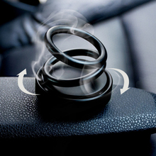 Solid Perfume Aromatherapy for Car Living Room Decoration Alloy Air Freshener Purifier Home